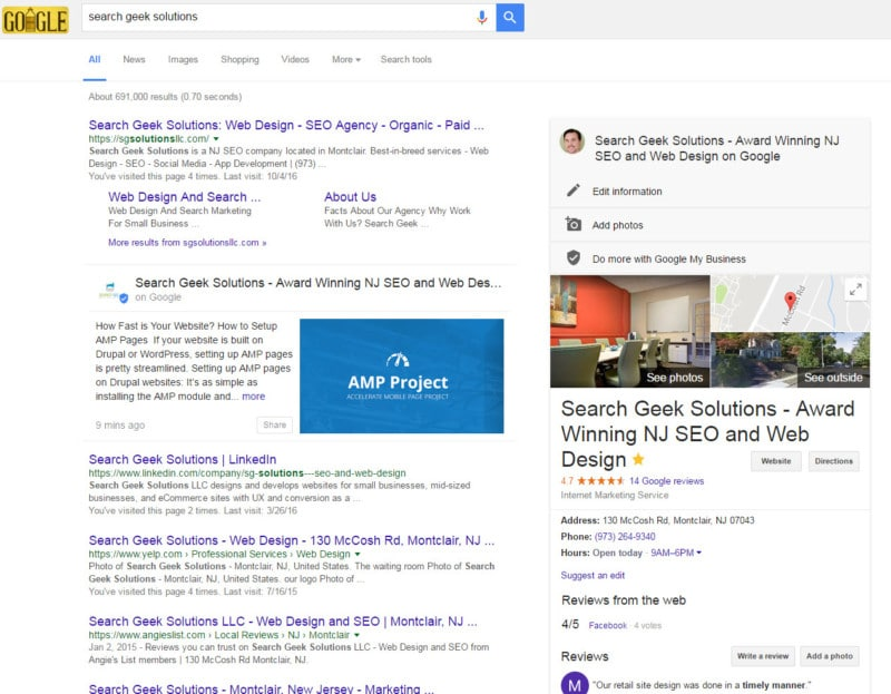 search geek solutions seo and web design 2017